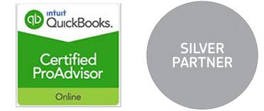 QuckBooks Silver Partner and Certified ProAdvisor